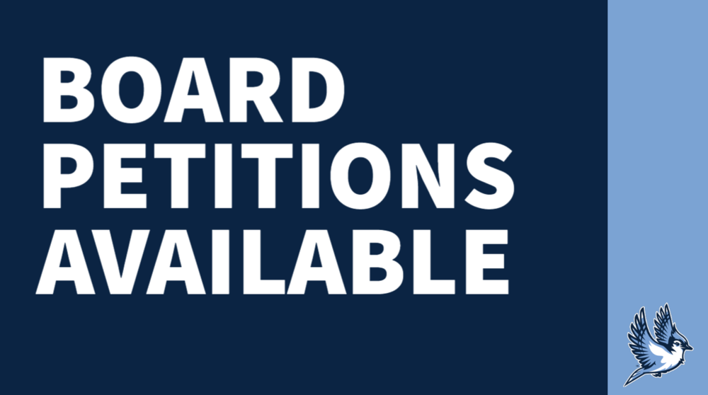 Board of education petitions available for interested candidates
