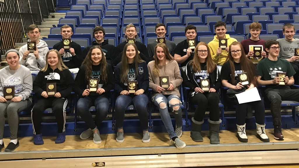 Winter Award Winners